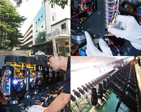 DJ Lights Manufacturer
