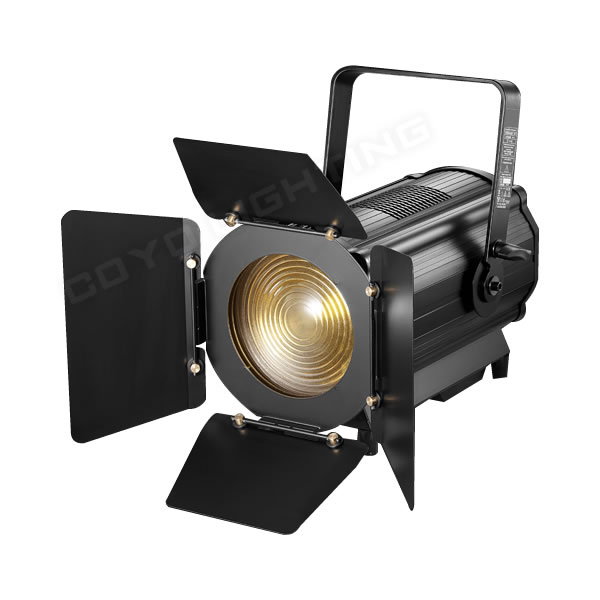 300W LED Fresnel Light Kit Barn Doors