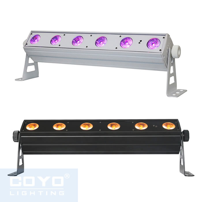 6x15W 6in1 Wireless Battery Powered LED BAR Light