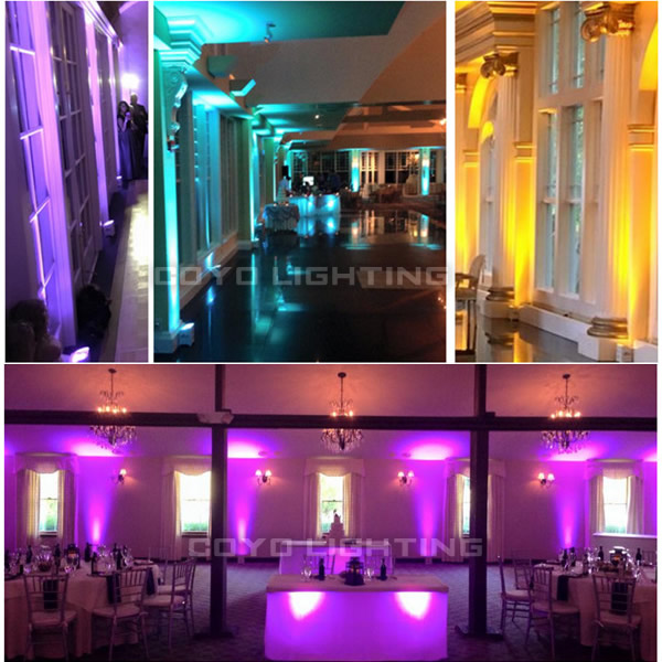 Wireless DJ LED Uplighting