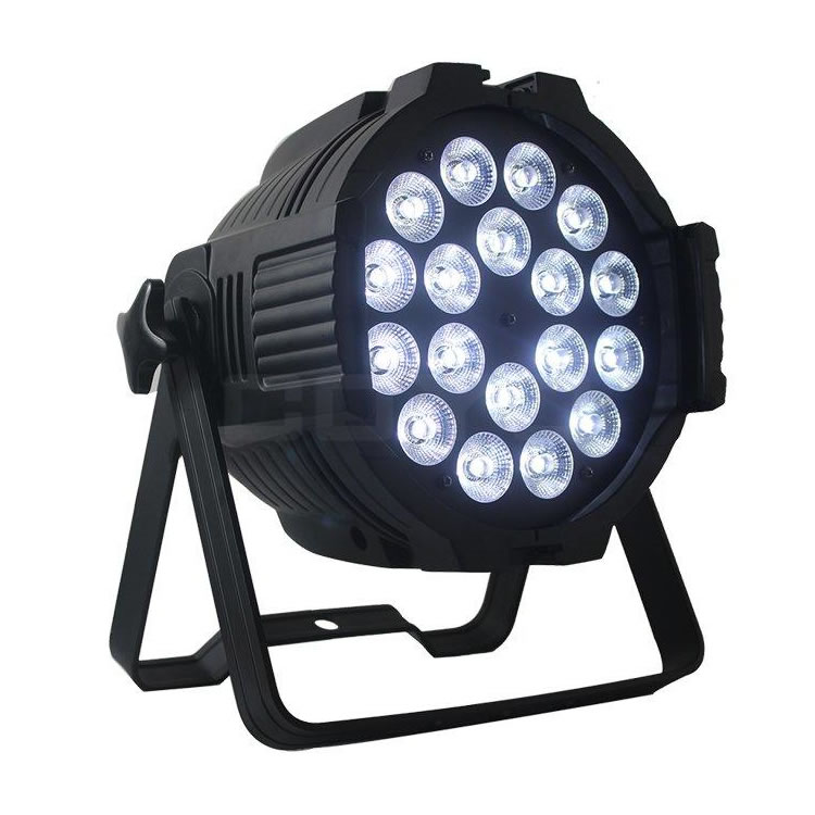 18x15W LED PAR Light RGBWAUV 6in1 IPAR18