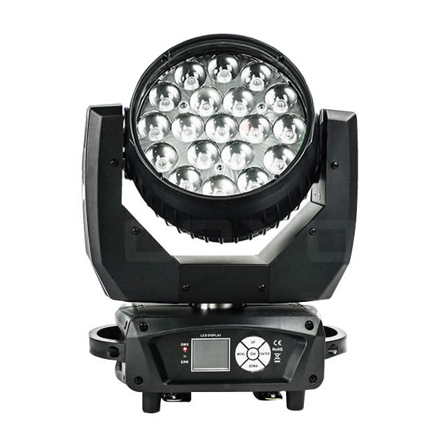 19x12W LED Wash Moving Head Zoom MHW1912