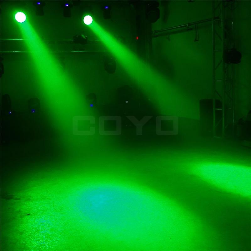 19x12W LED Wash Zoom RGBW
