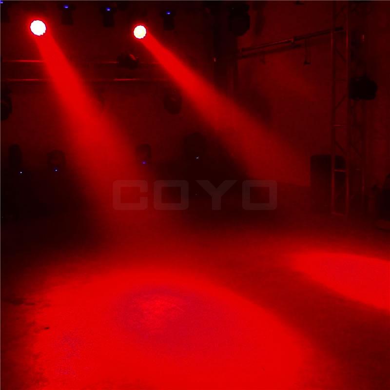 19x12W RGBW LED Zoom