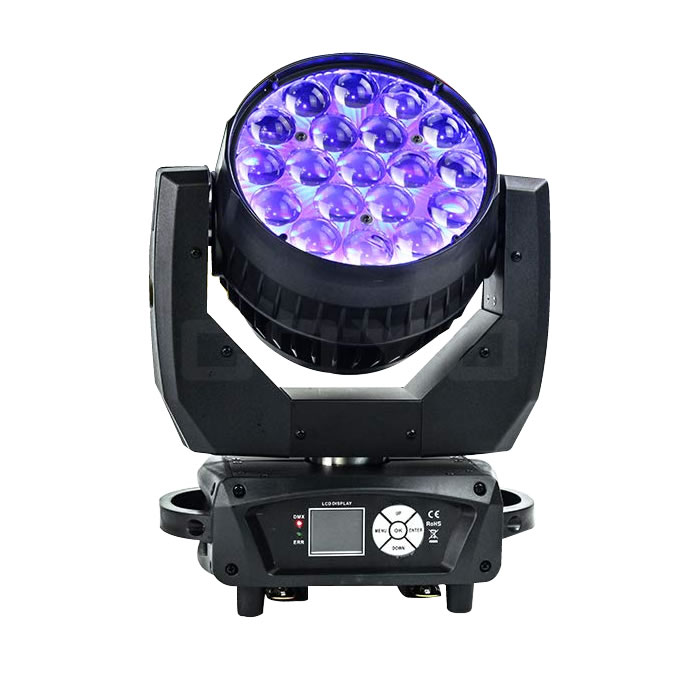 19x15W LED Wash Moving Head RGBW Zoom Backlight MHW1915