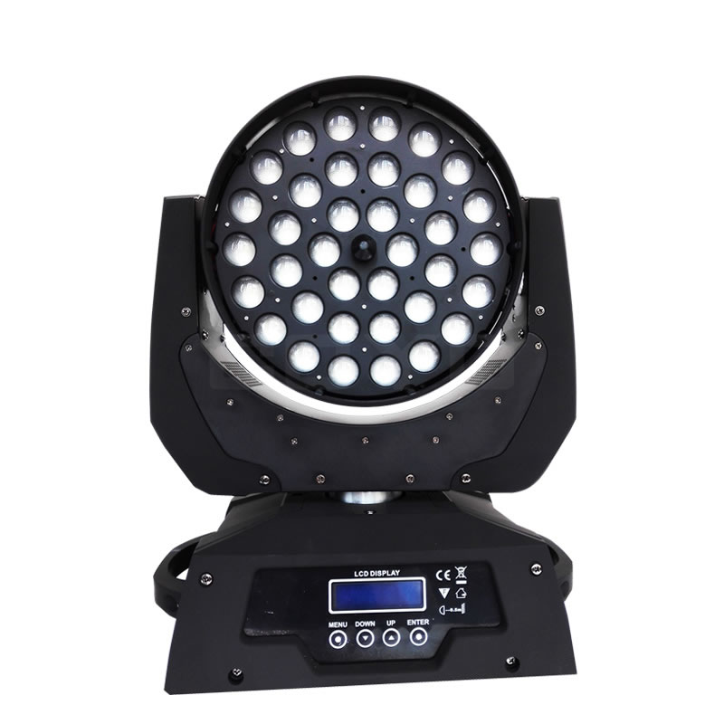 36x10W LED Moving Head Zoom Wash MHW3615