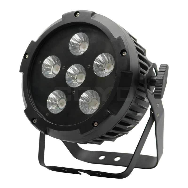 6x20W COB RGB LED PAR With PowerCon IPAR620