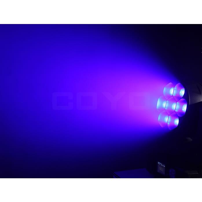 7x40W RGBW LED Wash