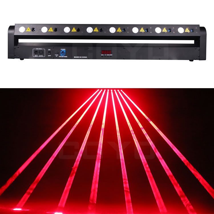 8 Eyes Laser BAR LED LBY803