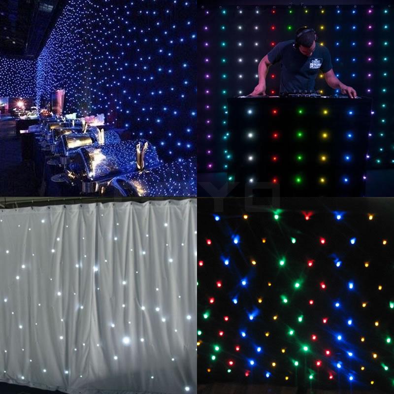 Customize LED Star Curtain