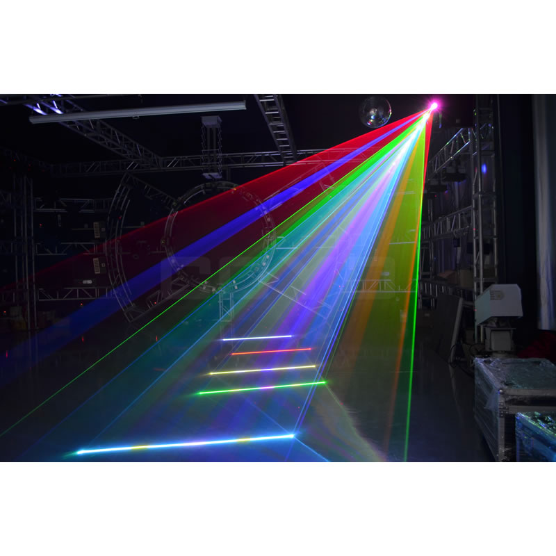 DJ Moving Head Laser Light RGB