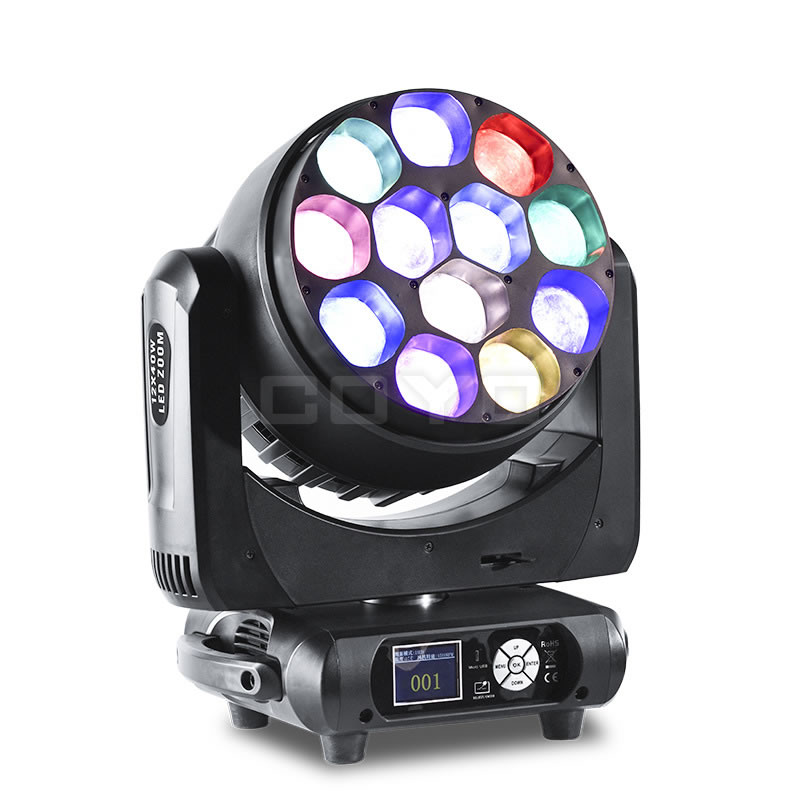 MHW1240 12x40W LED Zoom Moving Head Wash
