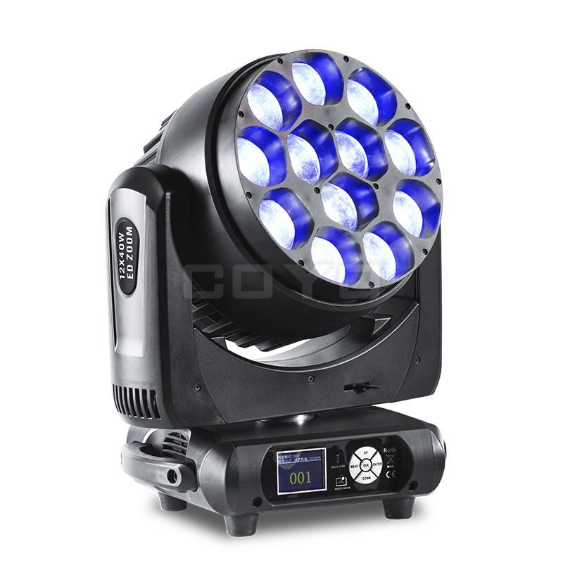 12x40W LED Zoom RGBW