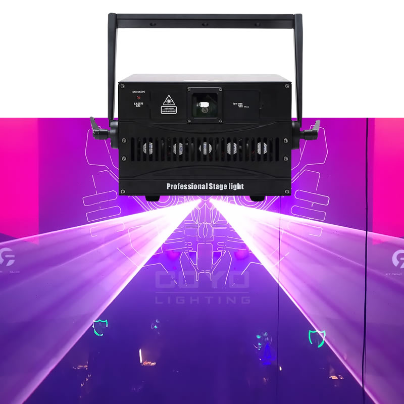18W RGB Laser Light Show Projector CLP7
