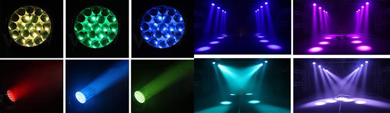 LED Stage Wash Lighting