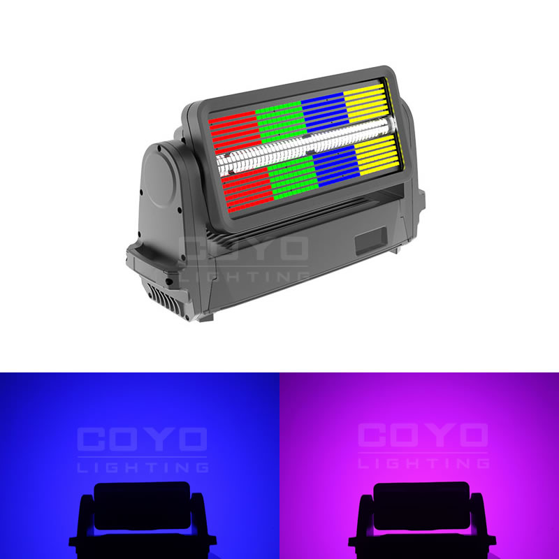 Outdoor Moving Head LED Strobe Lights CSTM1000