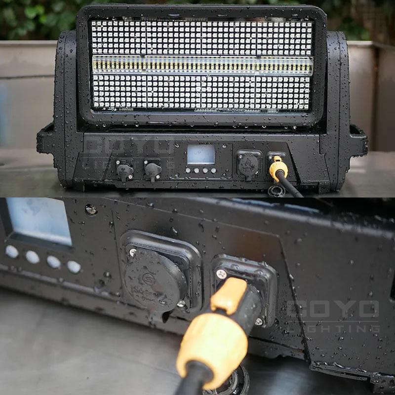 Outdoor Waterproof IP65 LED Moving Head Strobe Light