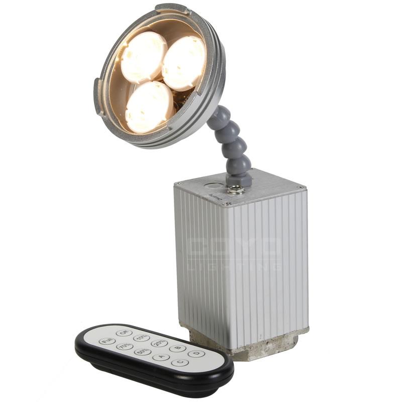 battery powered pinspot lights